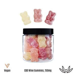 CBD You Vegan Wine Gummies - 150mg CBD