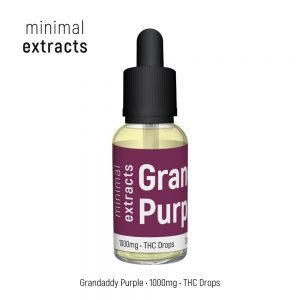 Grandaddy Purple Tincture - 1000mg THC - Minimal Extracts