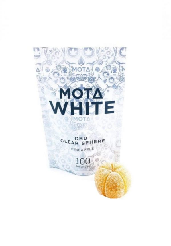 Mota White CBD Clear Sphere