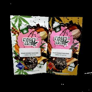 Vegan Coconut Bliss Bars - Sweet Jane