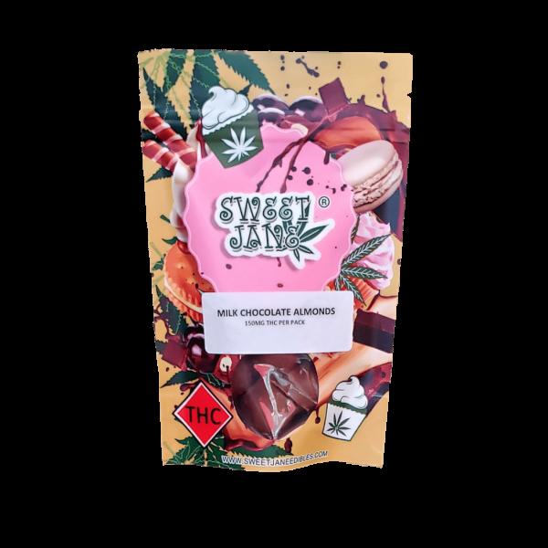 Sweet Jane Milk Chocolate Almonds - 150 mg THC