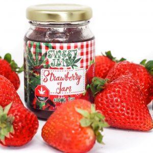 medical cannabis medical marijuana products Sweet Jane Strawberry Jam