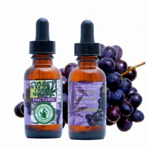 medical cannabis medical marijuana products Sweet Jane THC and CBD Grape Flavoured Tincture - 420 mg