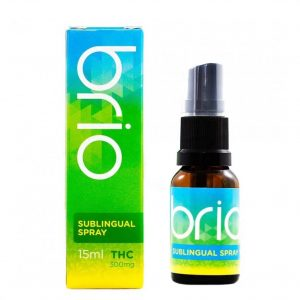 medical cannabis medical marijuana products Brio THC Sublingual Spray