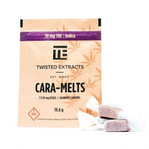 medical cannabis medical marijuana products Cara-melts Indica by Twisted Extracts