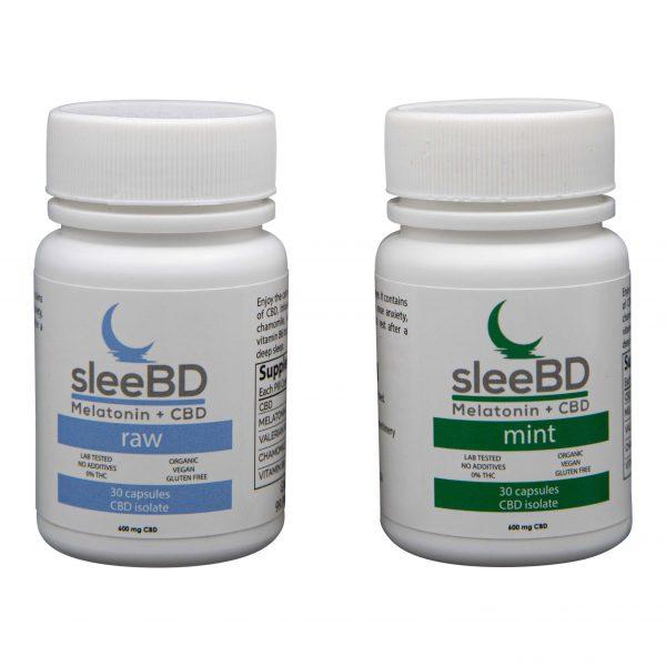 CBD Sleep Aid Capsules - 600mg CBD - SleeBD