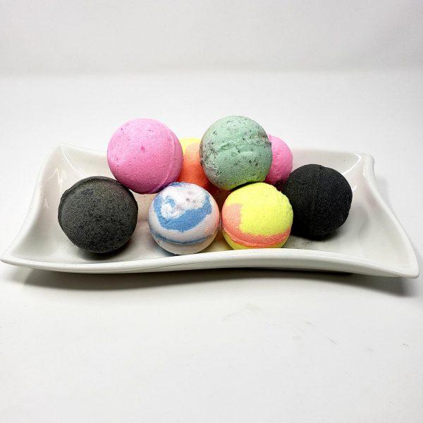 CBD Bath Bombs - 100mg CBD - Gaia Beauty & Wellness