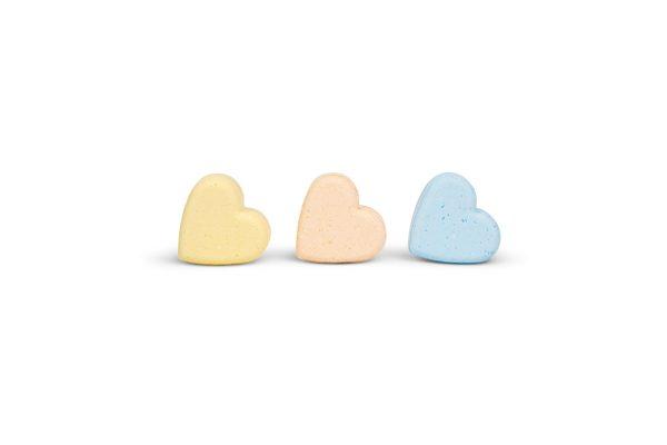 Sweet Heart Bath Bombs - 75mg CBD - Delush 2