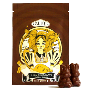Alice - Mushroom Milk Chocolate - 2.5 Grams