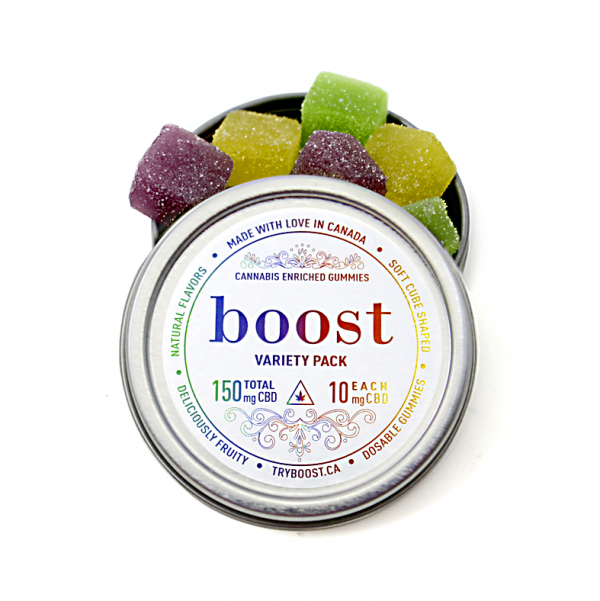 Boost CBD Variety Pack Gummies 3