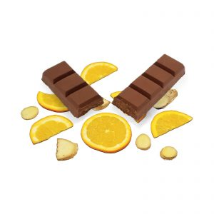 Orange and Ginger Bar - 300mg - Full Spectrum