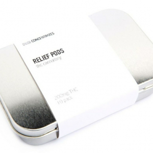 THC Relief Pods - 10 pods per Pack