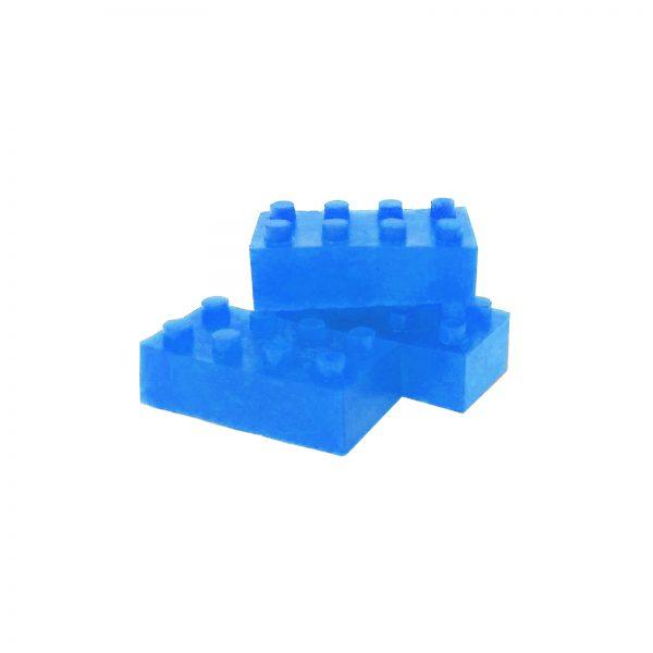 Building Block Gummies Blue Raspberry - 120mg THC - Full Spectrum - The Healing Co