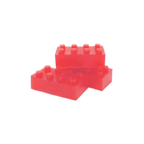 Building Block Gummies Watermelon - 120mg THC - Full Spectrum- The Healing Co