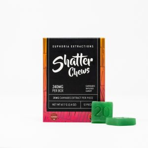 Shatter Chews - 240mg THC - Euphoria Extractions