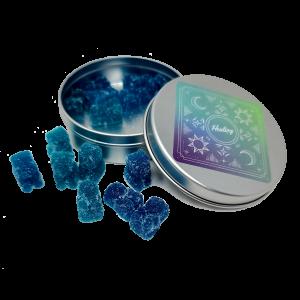 Blue Raspberry Gummy Bears - Hand Made - Premium Distillate - 400mg THC - The Healing Co