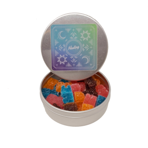 Assorted Flavoured Gummy Bears - Premium Distillate - 400mg THC - The Healing Co