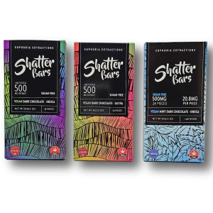 Euphoria Extractions Vegan Dark Chocolate Shatterbars