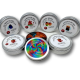 Gummy Bears - Premium Distillate - 400mg THC - The Healing Co - Gluten Free - Hand Made