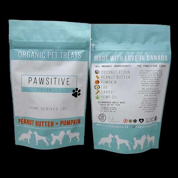 Pawsitive Organics - Organic CBD Pet Treats