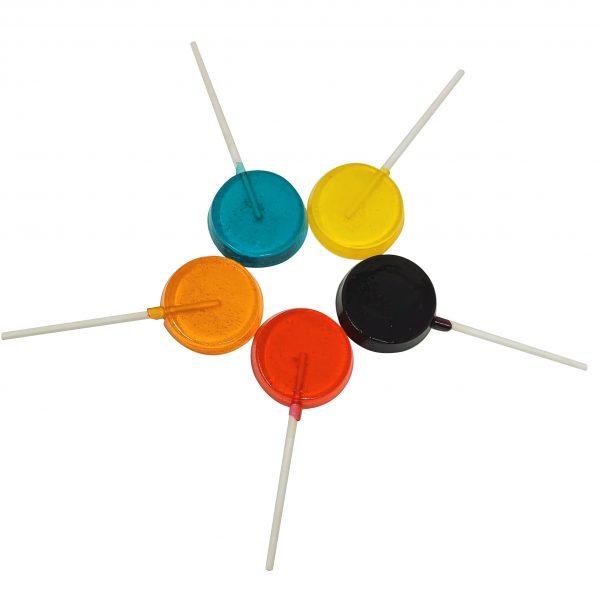 Sugar Free Lollipops - Premium Distillate - 90mg THC - Hand Made - The Healing Co 2