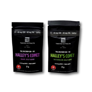 Halleys Comet Jelly Bomb - Twisted Extracts 1:1 THC:CBD