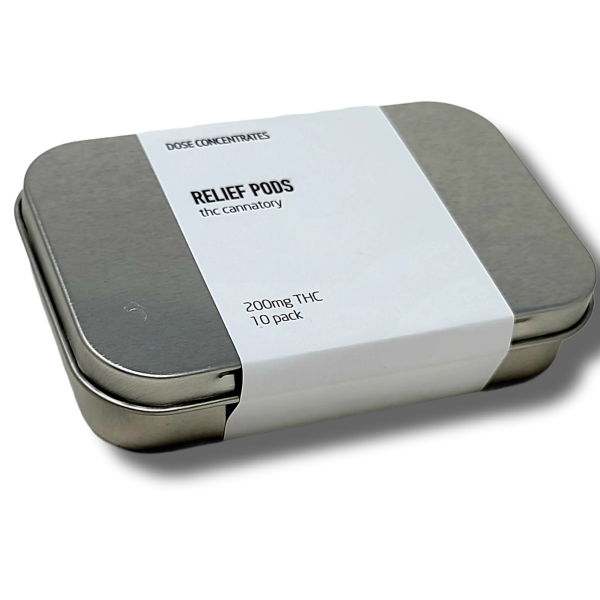 THC Relief Pods - 10 pods per Pack - The Healing Co