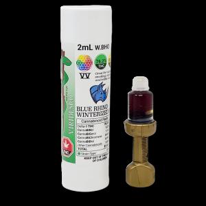 VIRIDESCO Oil – VV-Blue Rhino Winterized BHO Oil (2ml – 1524mg THC)