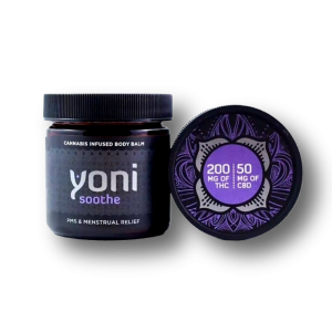 Yoni Soothe Balm - Mota. 200mg THC and 50 mg CBD