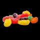 CBD Sour Fruit Slices - Vegan and Gluten Free - 300mg CBD