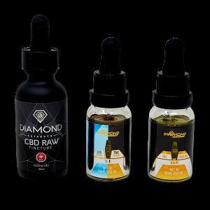 Diamond Tinctures - 1000mg - Premium Concentrates