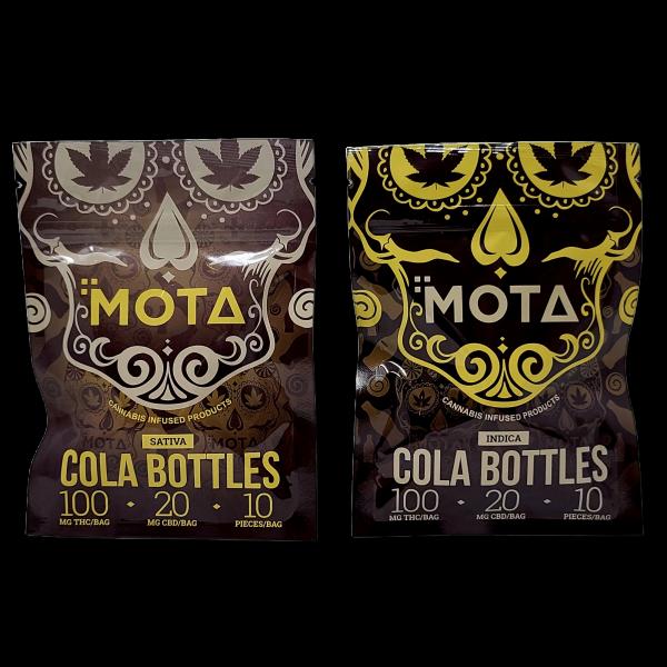 Mota Cola Bottles Gummies