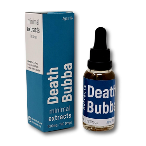 Death Bubba Tincture - 1000mg THC - Minimal Extracts