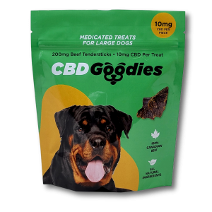 CBD Goodies Dog Treats - 100% Canadian Beef - CBDmove. No additives or preservatives.