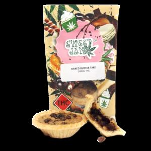 Baked Butter Tart - Sweet Jane - 200mg THC