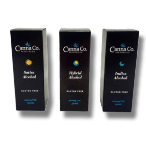 Tinctures 900mg THC - Gluten Free - Full Spectrum - Canna Co Medibles